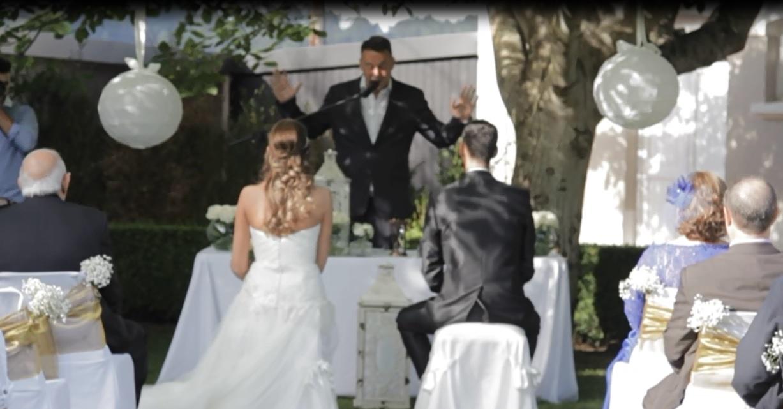 Oficiante para bodas civiles